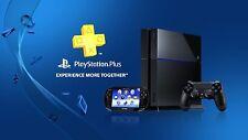 Playstation Plus 12 Months Membership Account WORLDWIDE