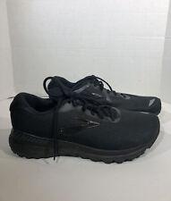 Brooks Adrenaline GTS 20 Mens Sz 11 EU 45 4E Black Athletic Running Shoes ZE-641