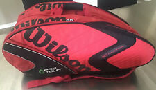Wilson Pro Tour (K) Factor Tennis Racquet Bag Moisture and Thermal Guard Pockets