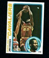 NMT 1978 Topps Basketball #105 Jim Chones.
