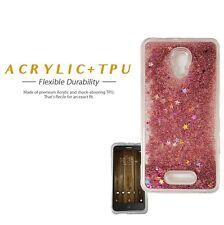 ALCATEL FIERCE 4 FLOW GLITTER LIQUID BLING STARS FULL TPU LUXURY CASE METRO PCS