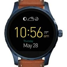 Fossil Q Gen 2 Marshal Mens Brown Leather 45mm