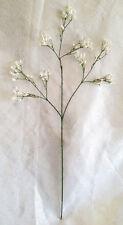 WHITE Tall Baby's Breath Gypsophila Silk Wedding Flowers Centerpieces Fillers