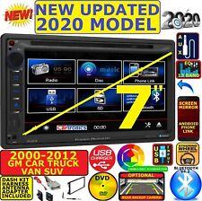 FITS 00-12 CHEVY-GMC TRUCK-VAN-SUV CD/DVD BLUETOOTH USB AUX CAR RADIO STEREO PKG