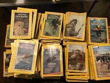 Lot 10 National Geographic Magazine Random Pick 1930s - 1990s No Duplicates