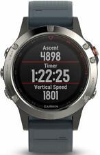 Garmin fēnix 5 Rugged Multisport GPS Smartwatch Run Fitness Heart Rate Silver