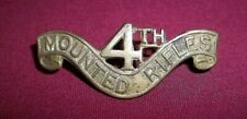 WWI Original South African 4th Mounted Shoulder Title 1914-1919 Scarce