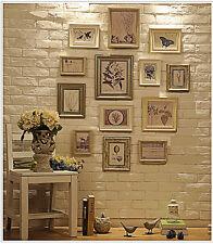 RD13 VINTAGE CORNICE Set, Wall Frame Set con 10 qualità cornici fotografiche
