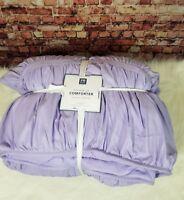 Pottery Barn Dorm Pucker up Comforter Full Queen Lavender Purple