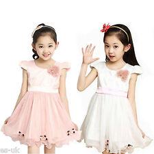 Abbigliamento bianchi in chiffon per bambine dai 2 ai 16 anni
