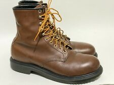Red Wing Boots 2233 Steel Toe Sz 11 A Narrow Work Boot SuperSole