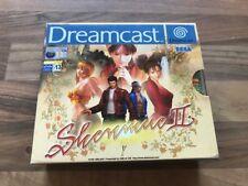Dreamcast:    SHENMUE 2         PAL EUR