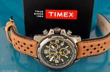 NEW TIMEX MENS PREMIUM EXPEDITION DIVERS CHRONOGRAPH STAINLESS STEEL WATCH