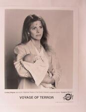 Voyage of Terror TV Movie Press Photo 1- B&W 8x10 ~ Lindsay Wagner ~ 1998
