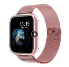 2020 New Women Waterproof Smart Watch T80 Bluetooth Smartwatch For Apple IPhone