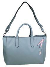 Esprit Damen Handtasche Tasche Henkeltasche Faith Tote Blau 068EA1O003-440