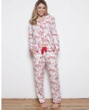 Cyberjammies Erin Woven Brushed Cotton Blend Pyjama Set UK Size 18