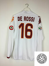 Roma DE ROSSI #16 08/09 L/S Away Football Shirt (XL) Soccer Jersey Kappa