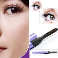 Electric Heated Eyelash Curling Long Lasting Eye Lashes Curler Makeup Tool New