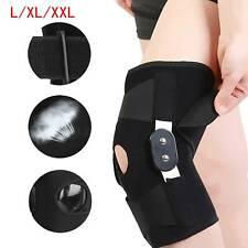 Adjustable Aluminium Double-Hinged Knee Support Strap Arthritis Brace Guard UK