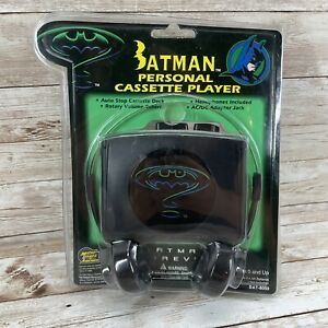1995 Batman Forever Personal Cassette Player New Sealed