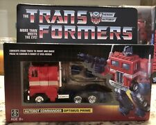 Optimus Prime G1 Transformers Reissue New Exclusive Walmart Autobot Gift Sealed