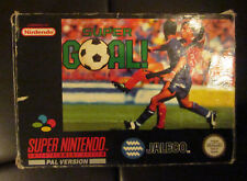 Super Goal! - Nintendo SNES Video Game (PAL Format) *COMPLETE* Super NES Two