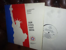United States Air Forces in Europa, our eyes have laghi, LP 1976 auto Gram-SIGNED