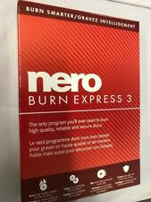 Nero Burn Express 3 PC NEW!