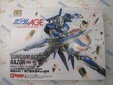 Gundam Age 1 1R Razor Conversion Custom Model Kit Bandai Hobby Japan Magazine