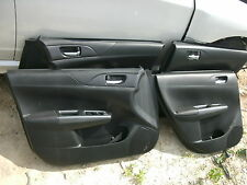 12 Subaru Impreza WRX wagon door panels trim cards