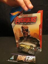 Nick Fury Ultra Rage Avengers Age of Ultron Hot wheels 5/8 die cast car vehicle