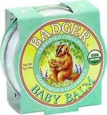 Badger Baume Mini Bébé Camomille et Calendula (21g)