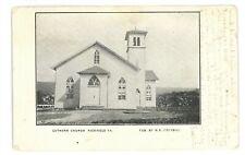 Luthern Church RICHFIELD PA Juniata County Pennsylvania Postcard