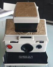 POLAROID SX70 ALPHA Model 2 ivory- Full Working -TESTATA CON PELLICOLA