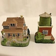 Liberty Falls Collection Home Of Annabelle Phillips Water Tower 5 Pewter Figures
