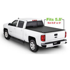 JDMSPEED Roll Up Tonneau Cover For 2007-2013 Chevy Silverado GMC Sierra 5.8' Bed