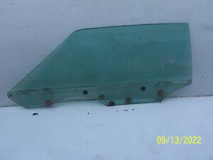 1977 1978 1979 LINCOLN MARK V LEFT DOOR WINDOW GLASS USED OEM