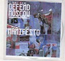 (EC491) Defend Moscow, Manifesto - 2009 DJ CD