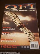 QUIET FLIGHT INTERNATIONAL - JUPP'S MODELS - APRIL 1996