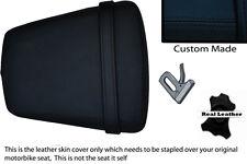 Negro Stitch Custom 99-02 Fits Yamaha 600 Yzf R6 Cuero Asiento Trasero Cover