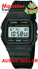 FREE POST FROM SYDNEY CASIO VINTAGE RETRO F-91W-3 F91 F91W F-91 12-MONTH WARANTY
