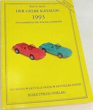 """""""Le jaune Katalog"""" 1993 pour Wiking, Cuisinier , dispersés Entrées # å"""