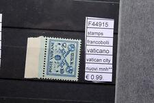FRANCOBOLLI STAMPS VATICANO VATICAN CITY NUOVI MNH** (F44915)