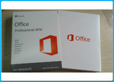 Genuine Microsoft Office Suites 2016 Pro 32/64 Bit For Windows PC + Key