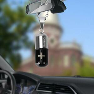 Air Freshener Automobile Essential Oil Capsule Bottle Decor Hanging Car B2B4