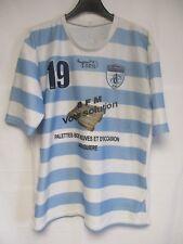 Maillot rugby CASTRES AVIRON CASTRAIS porté n°19 Toril shirt XXL 7