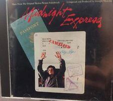 Midnight Express Original Soundtrack Giorgio Moroder CD Casablanca German Import