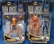 Batman Legends Of The Dark Knight Premium Collector Series MOC Figure Lot Kenner