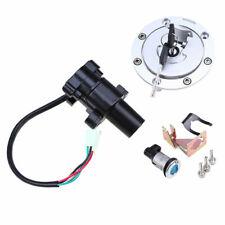 Gas Cap Set Ignition Switch Seat Lock Key For Honda CBR600RR 03-14 CBR600 91-98
